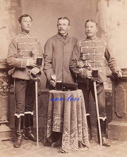 Husaren Visors in Wear