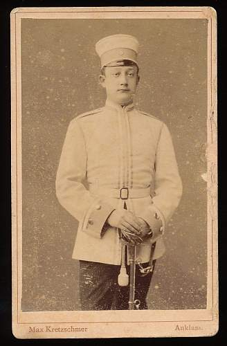 Cuirassier Visors in Period Photographs
