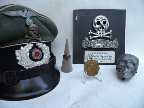 Leib Husaren  Busby Skull