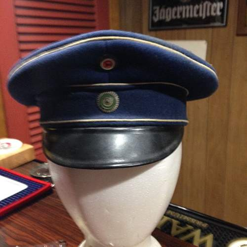 Support Troops Headgear (Dunkelblau u. Feldgrau)