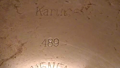 Need info on German 1917 large brass shell, Sp255 Karth Patronfabrik Karlsruhe