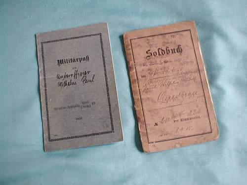 1872 Soldbuch
