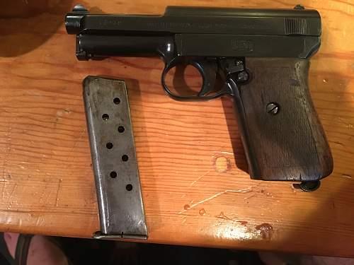 Mauser 1914 Pocket Pisol