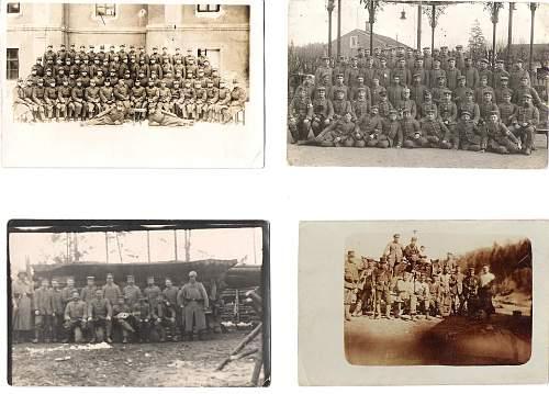 German photo postcards