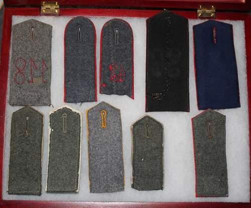 Imperial Shoulder boards