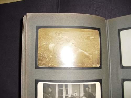 WW1 Arty photo album