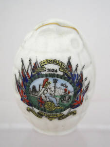 ww1 crested china german helmet