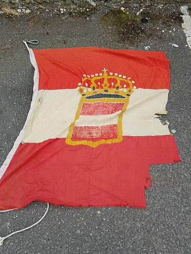 A Supposed Austrian WW1 Flag is Up for Sale on eBay. Any Thoughts on Authenticity?