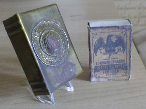 Imperial German Match Book cover