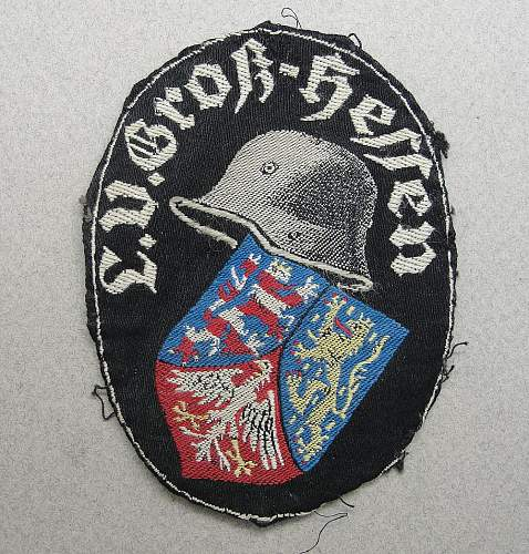 "WWI ""LV Gross-Hessen"" Vets Insignia, original?"