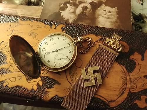 Patriotic watchfob