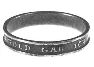 """Patriotic Ring """"Vaterlandsdank 1914"""""""
