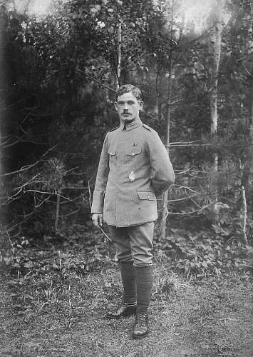 WWI photos of the younger brother of my grandfather