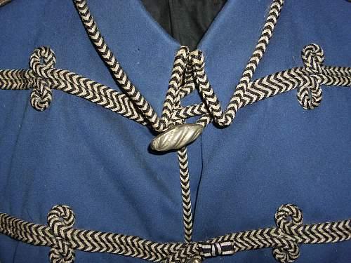 Husaren Interim Attila tunic.