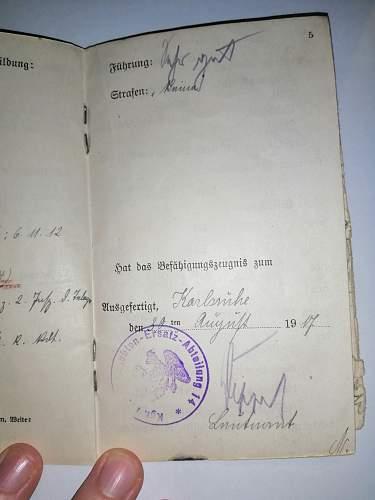 German Militarpass