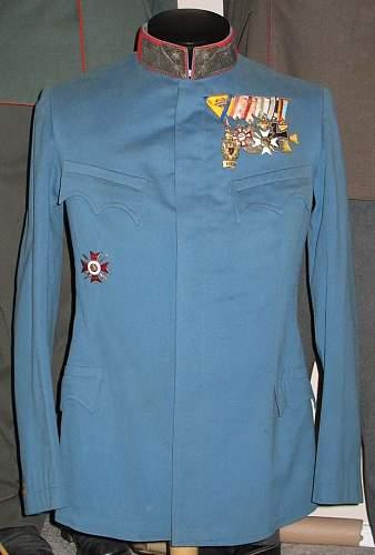 Austro-Hungarian tunics