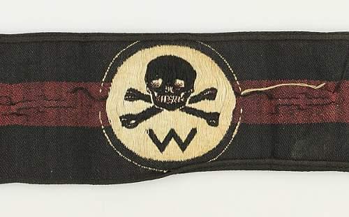 Wehrwolf armband.
