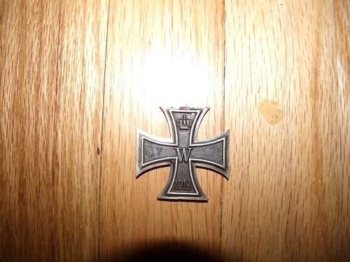 flea market find wwi german iron cross