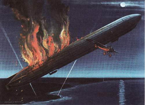 Click image for larger version.  Name:LZ37 goes down in flames.jpg Views:752 Size:234.1 KB ID:167310