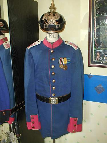 Royal Bavarian Infantry Regiment 3 (Prince Karl)  tunic