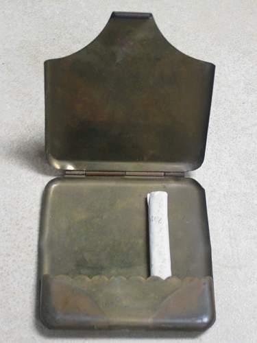 WW1 cigarette case