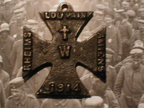 Views on British iron cross used for propaganda ? Do you think its a fake ?