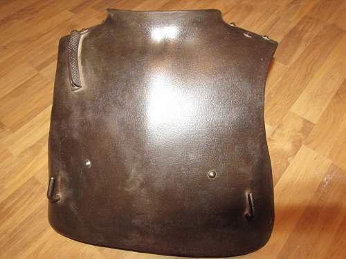 Help! with definition Friends, I has bought German cuirasse on ww1.