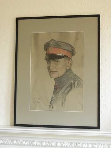 German Pilot Portrait