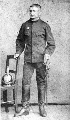 Need help identifying uniform, medal, and helmet from austria circa 1880