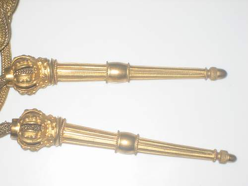 Please Help ID These Cuffs and Aiguillette
