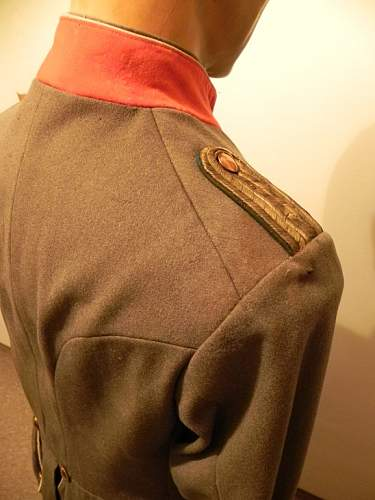 German Tunic M1910 for former cavallery officers