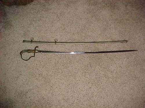 Imperial German sword.