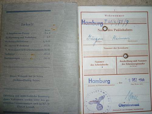 Imperial German Documents