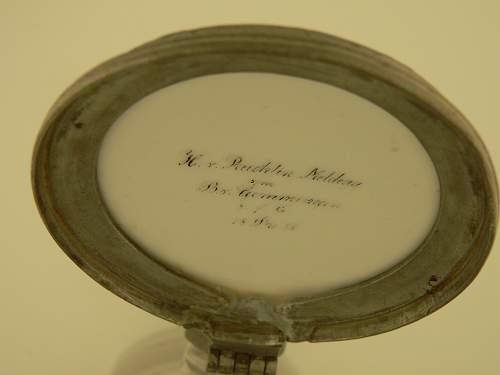 Beer stein belonging to general/member of Reichstag