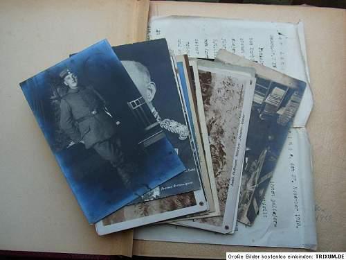 My very interesting WW1 photo-album!