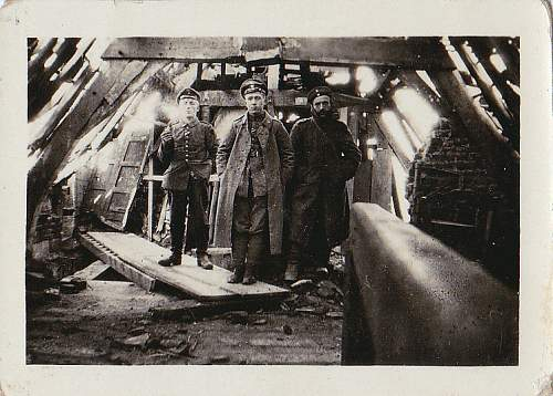 WW 1 Dated photo Imperial German Army ?