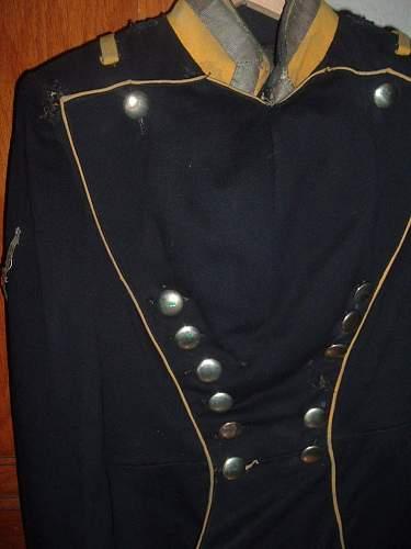 1890's 20th Ulan Rgt NCO Uniform & Sword
