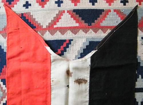 Imperial tri colour flag/pennant