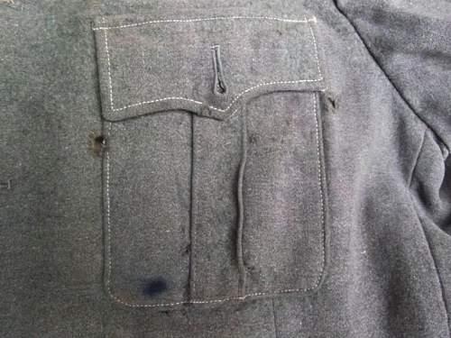 Wool Reichswehr Feldbluse?