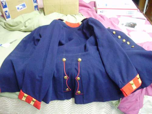 imperial enlisted man's tunic