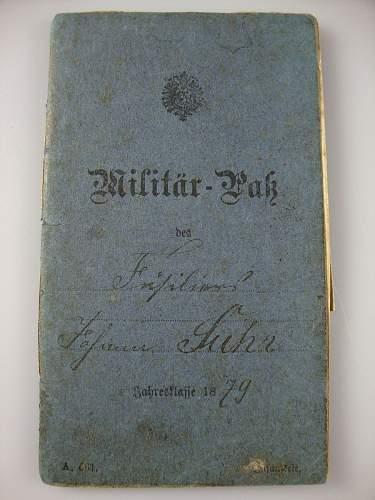 Click image for larger version.  Name:1879 Pru�ian Milit�r Pa� 1.JPG Views:134 Size:175.8 KB ID:300543