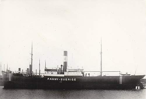 The sinking of S/S Fanny