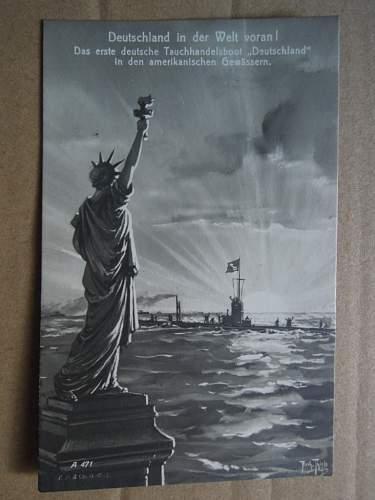 Click image for larger version.  Name:U-Kreuzer Deutschland New York Harbor 1916.JPG Views:242 Size:189.0 KB ID:306857