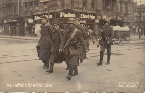 The January 1919 Uprising in Berlin