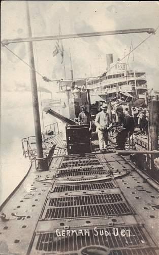 German U-Boat Photos and Postcards