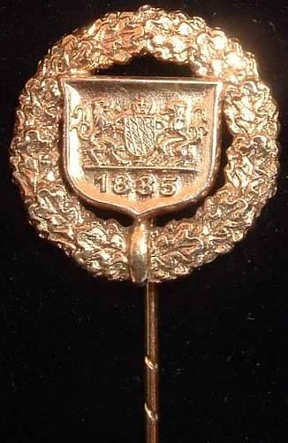 Help - Unknown Bavarian Gold Stickpin