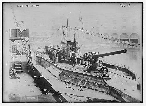 Cargo Submarine U-Deutschland Artifacts and Model