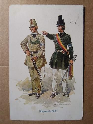 Click image for larger version.  Name:Bürgerwehr 1848 (1929 front).JPG Views:144 Size:184.5 KB ID:329399