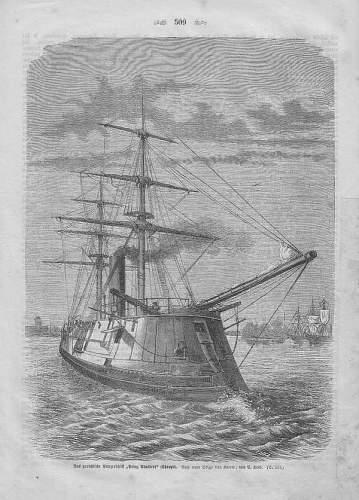 Click image for larger version.  Name:Das Preußische Panzerschiff Prinz Adlabert 1868.jpg Views:138 Size:85.7 KB ID:329400
