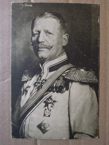 Click image for larger version.  Name:General Karl von Einem (front).JPG Views:322 Size:187.2 KB ID:329407